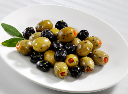 Clases de aceitunas para comer